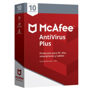ANTIVIRUS MCAFEE 2018 PLUS 10 DEVICE
