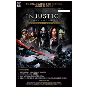 VGO PC INJUSTICE GODS NO VENTA